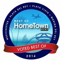 Thank you for voting us Best Optometrist for 2014 in the Westchester / Playa Vista / Playa Del Rey / Marina Del Rey area!
